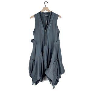 NWT Gracia Parachute Dress in Gray